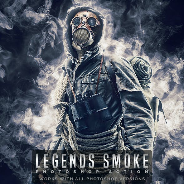 Legends Smoke - Photoshop Action