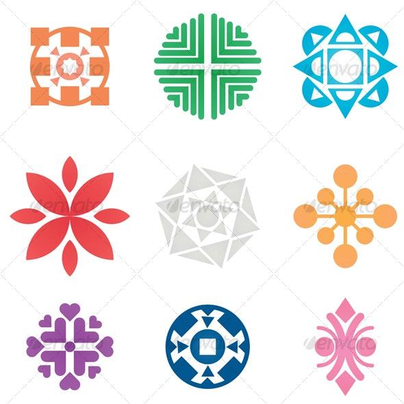 Vector Symbols - Decorative Symbols Decorative