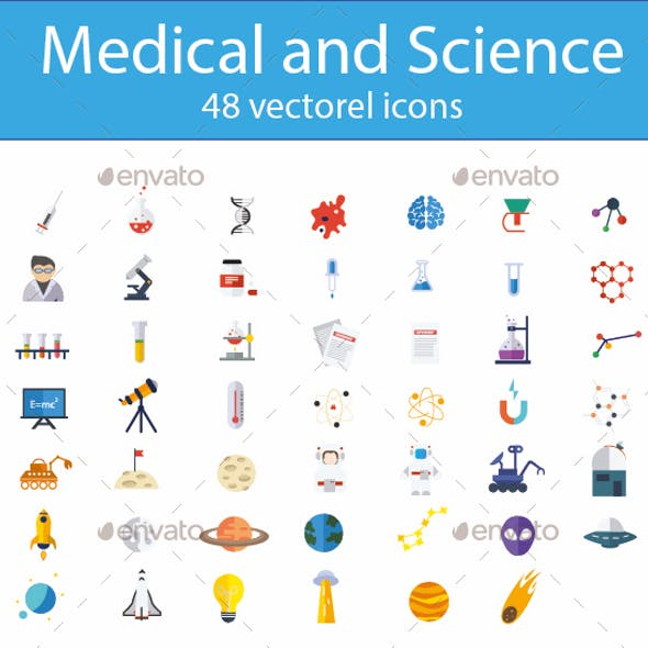 Medical and Science Icons