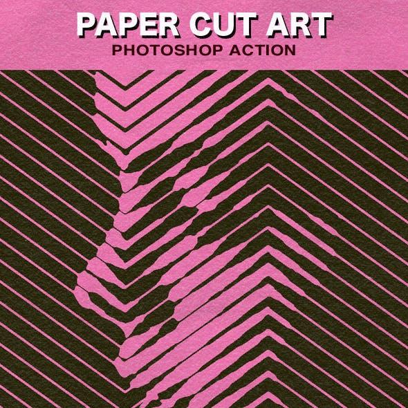 Paper Cut Art Photoshop Action