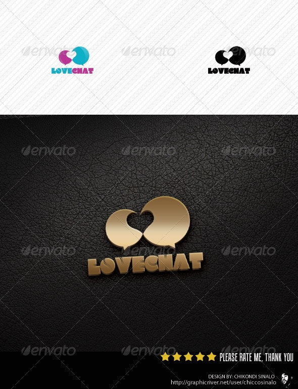 Lovechat Logo Template - Abstract Logo Templates