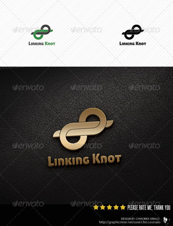 Linking Knot Logo Template - Abstract Logo Templates