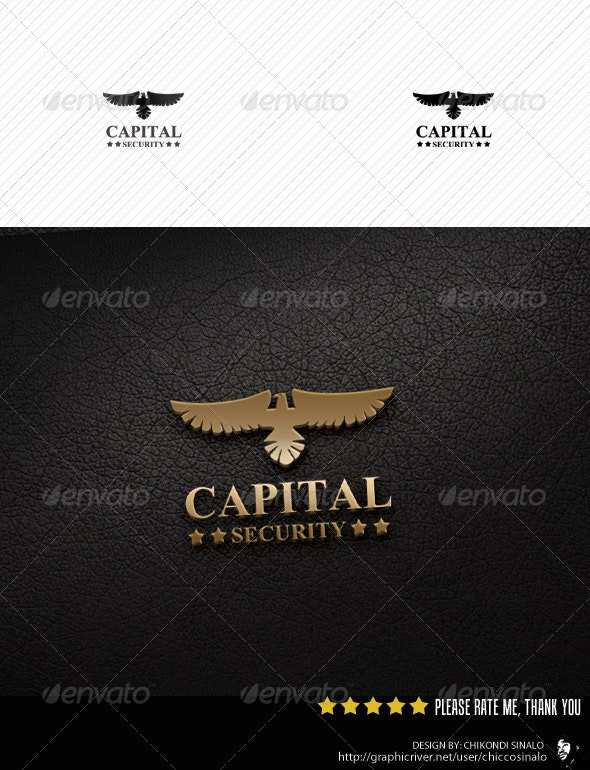 Capital Security Logo Template  - Abstract Logo Templates