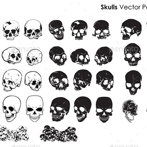 Skulls Vector Package