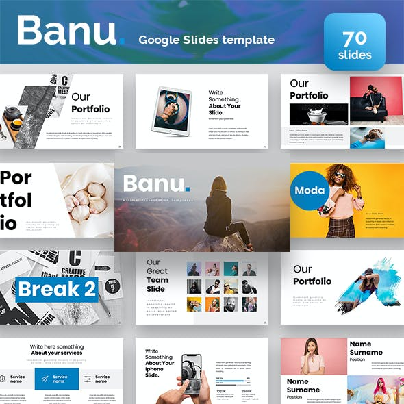 Banu Google Slides Template
