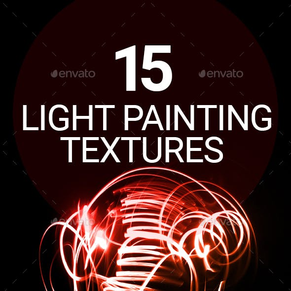 15 Light paint textures