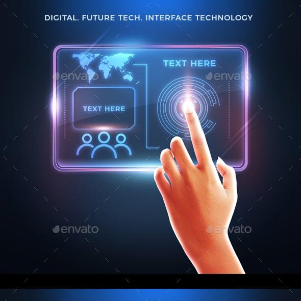 Digital Future tech. Interface technology
