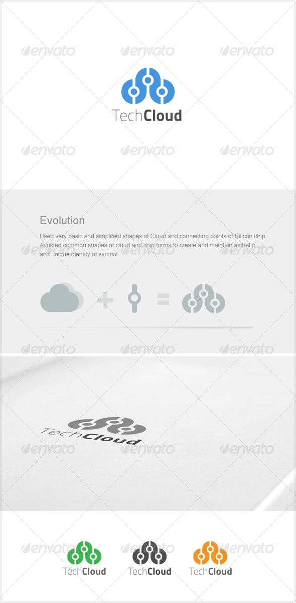 TechCloud - Symbols Logo Templates