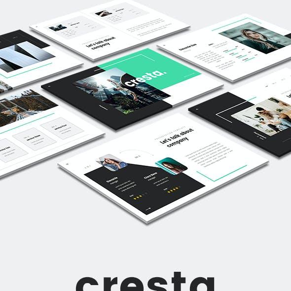 Cresta - Creative Google Slides