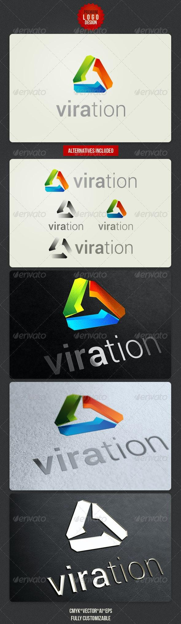 Viration Clean Logo Design - Symbols Logo Templates