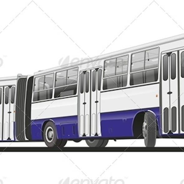 Vector Articulated Public Bus