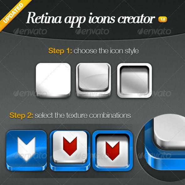Retina App Icons Creator