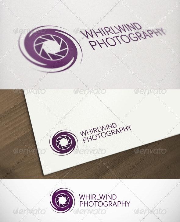 Whirlwind Photography Premium Logo - Objects Logo Templates