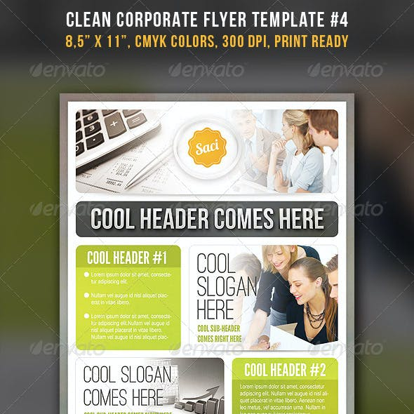 Clean Corporate Flyer #4