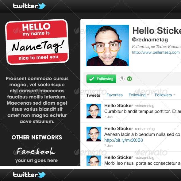 Twitter Background Bundle - Volume One