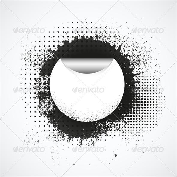 Vector Grunge Background - Backgrounds Decorative