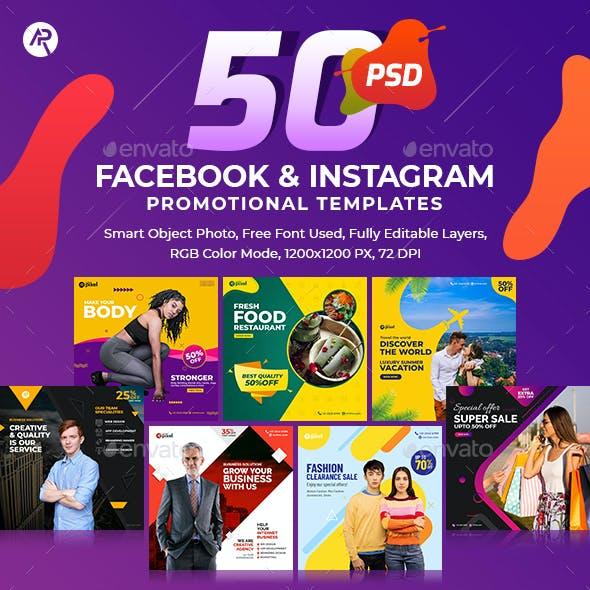 50-Facebook & Instagram Banners