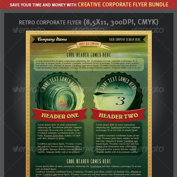 Creative Corporate Flyers Bundle
