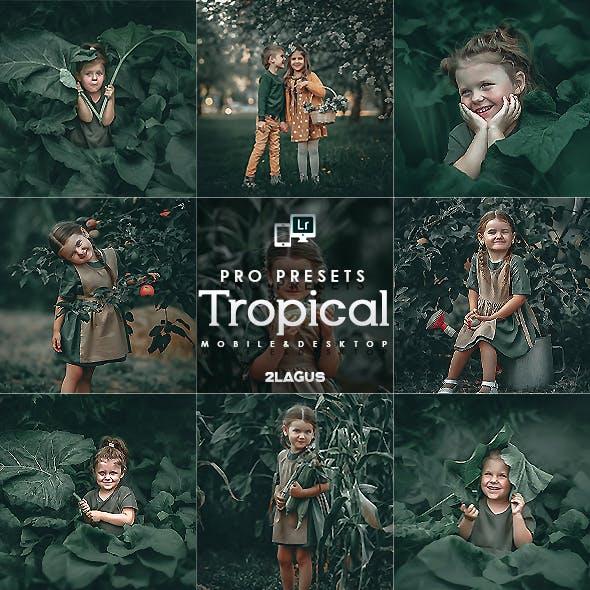 Tropical Lightroom Presets (Mobile & Desktop)