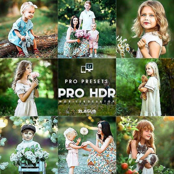 PRO HDR Presets (Mobile & Desktop)