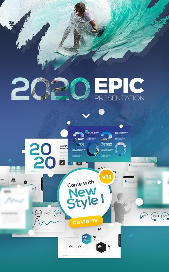 2018 Epic Presentation Template - Business PowerPoint Templates