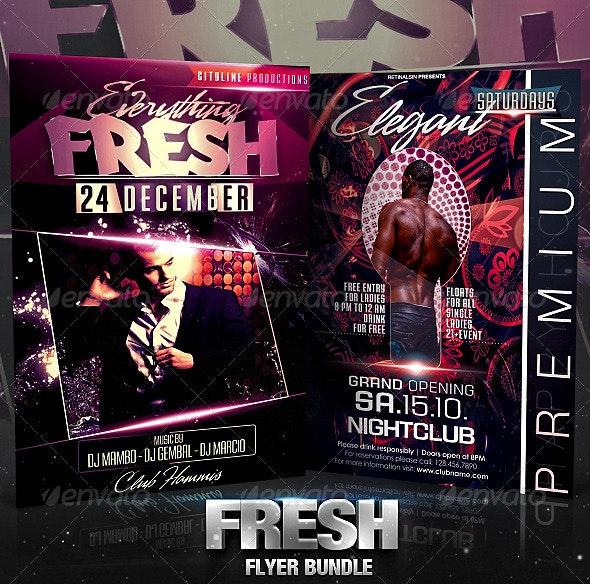 Fresh Flyer Bundle - Clubs & Parties Events