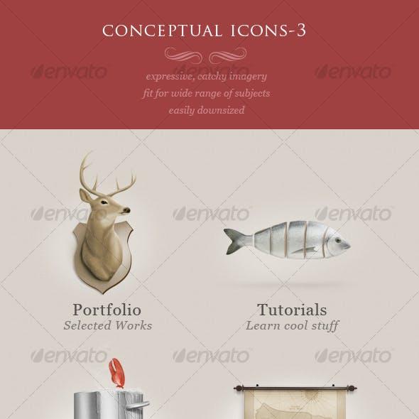 conceptual icons vol.3