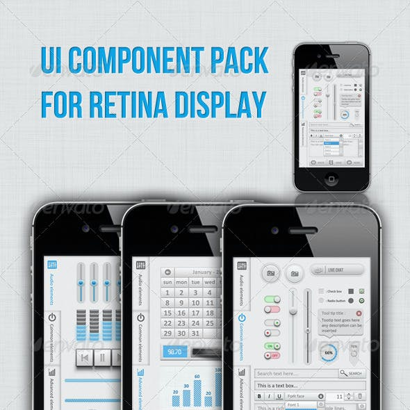 Full Ui Kit For Retina Display
