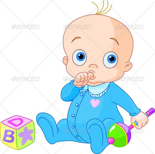 Sweet baby boy - People Characters