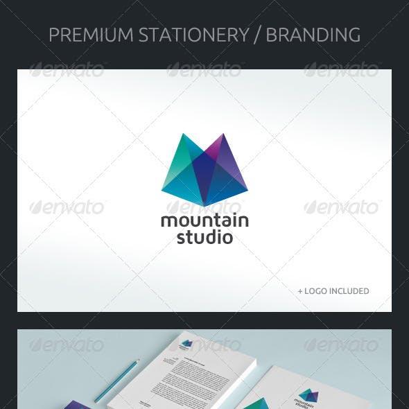 Mountain Studio - Corporate Identity