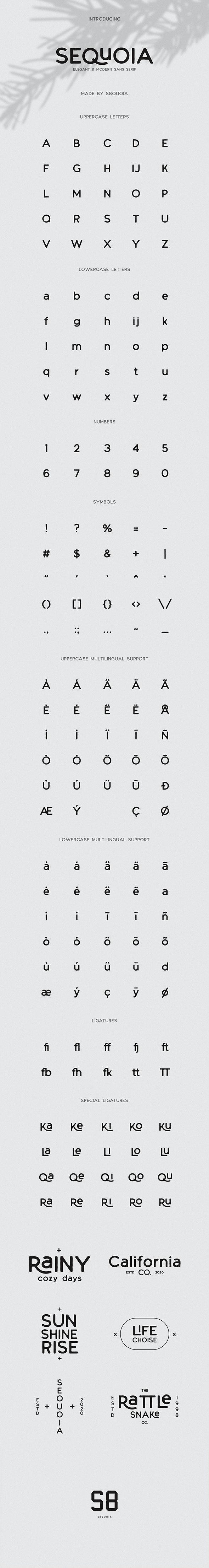 Sequoia Font / Sans Serif - Sans-Serif Fonts