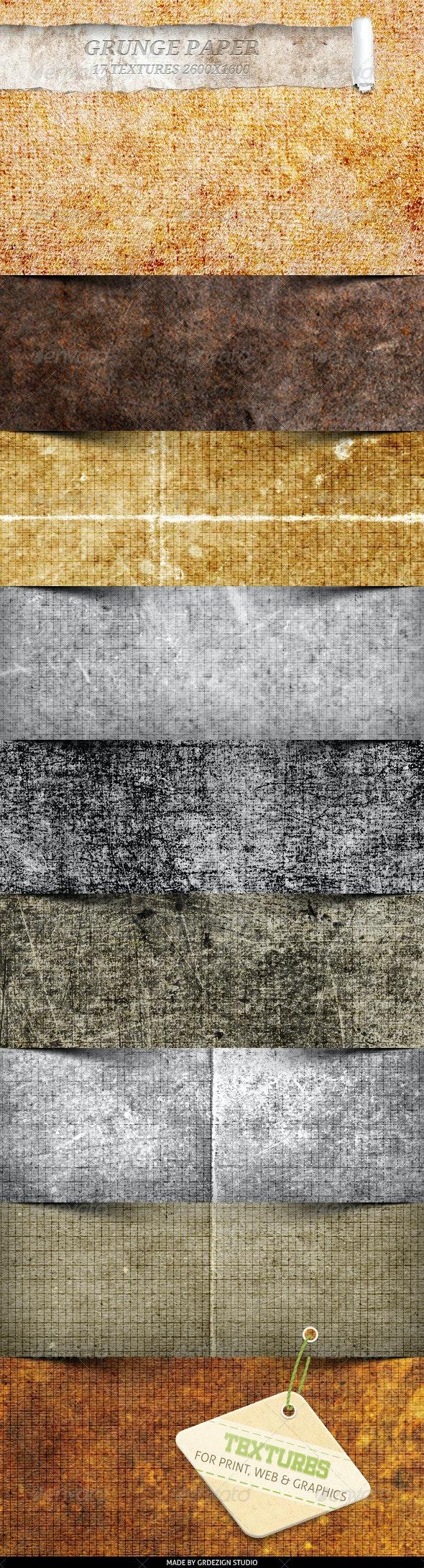 Grunge Paper Textures - Paper Textures