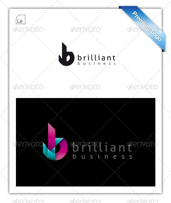 Abstract Letter B Logo - Letters Logo Templates