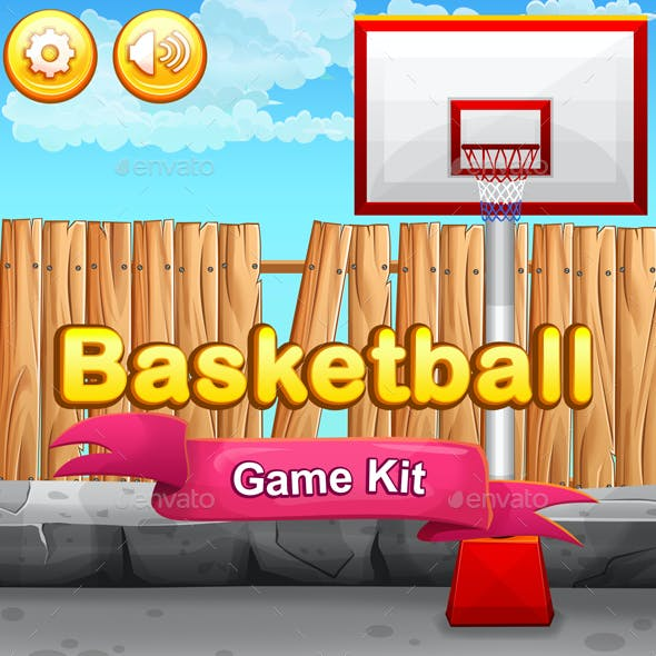 2D Basketball Game Kit