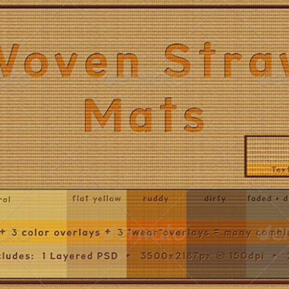 Woven Straw Mat