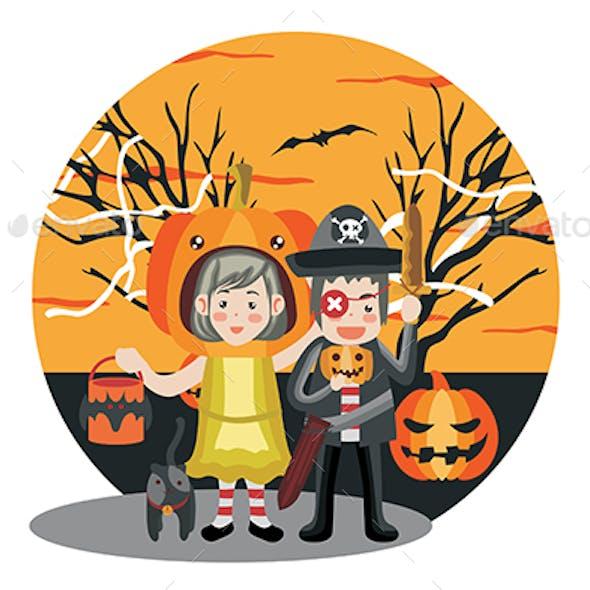 Halloween - Vector Illustration