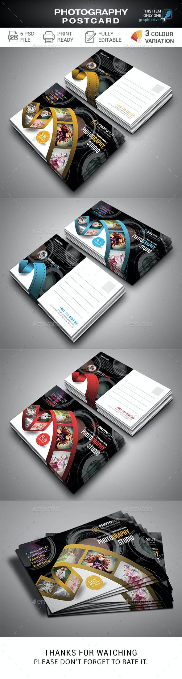 Photography Postcard - Cards & Invites Print Templates