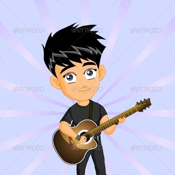 Boy Guitar