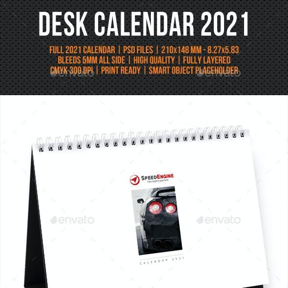Creative Desk Calendar 2021 V02