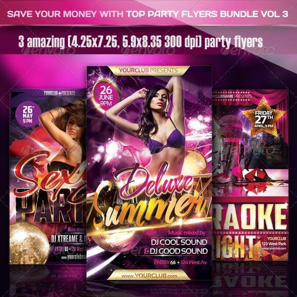 Top Party Flyer Bundle Vol3