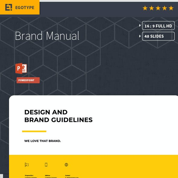 Brand Manual PowerPoint