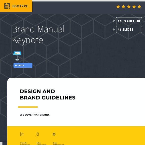 Brand Manual Keynote