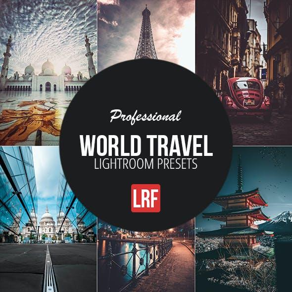 10 Pro Travel Lightroom Prests