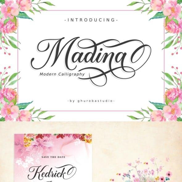 Madina | Modern Calligraphy