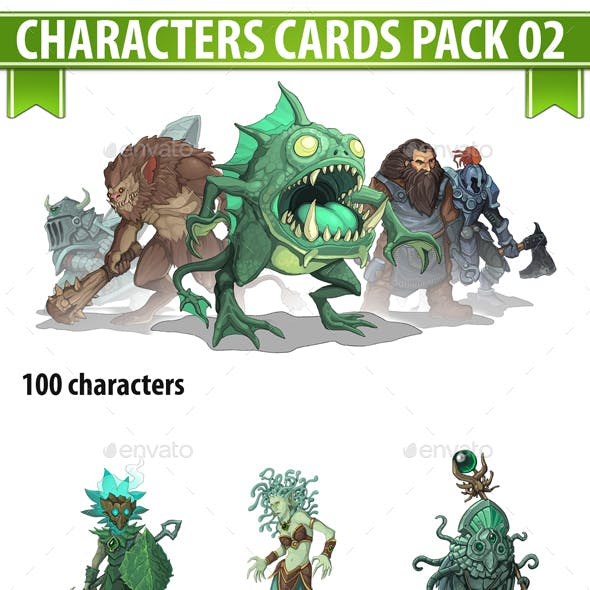 Characters Cards Pack 02