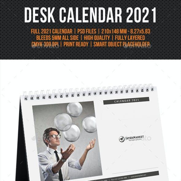 Corporate Desk Calendar 2021