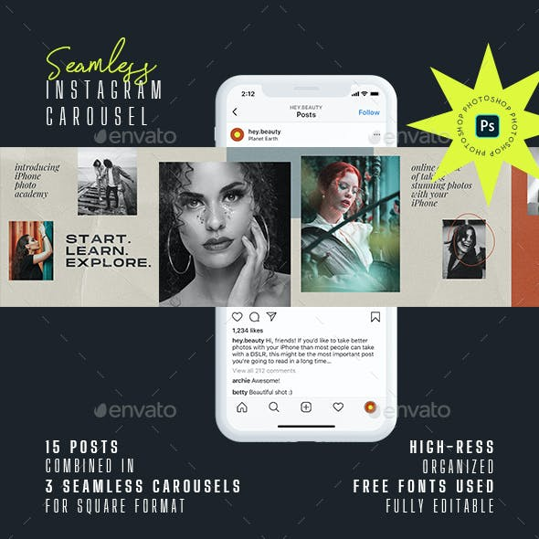 Seamless Instagram Carousel