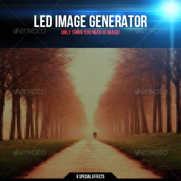 Led Image Generator