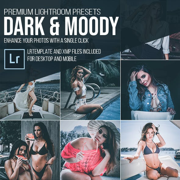 Dark & Moody Instagram Preset For Lightroom (Mobile & Desktop)