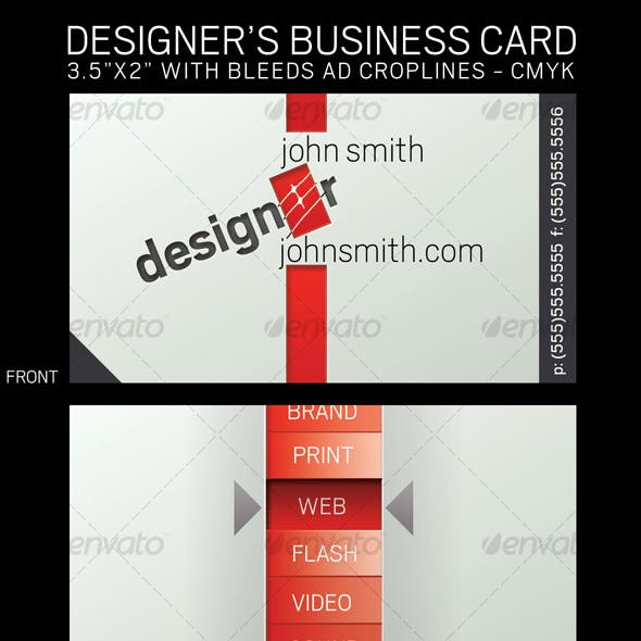 Designer's Business Card